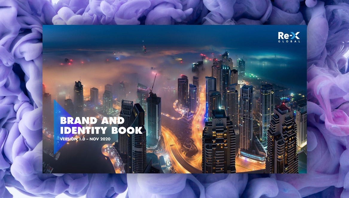 Re-x Brand book cover